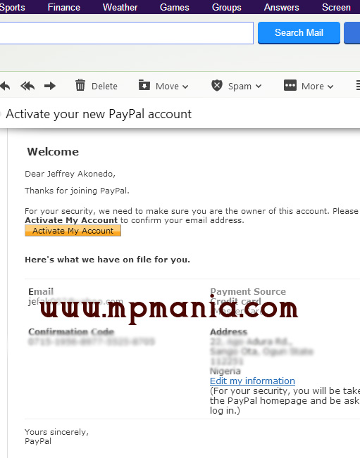 How To Open & Verify a Paypal Account in Nigeria
