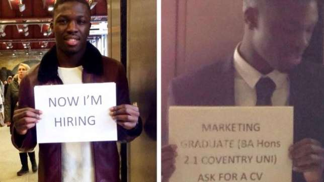 Nigerian Graduate who shared CVs in UK Train Station is now