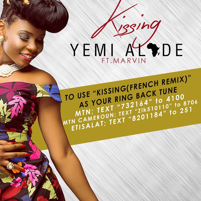 Download: Yemi Alade – Kissing ft  Marvin : Music