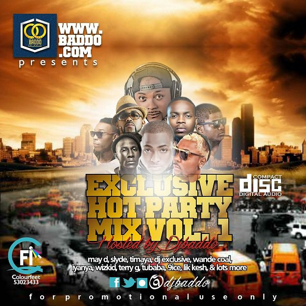 HKM MP3: Dj Baddo - Exclusive Hot Party Mix Vol 1