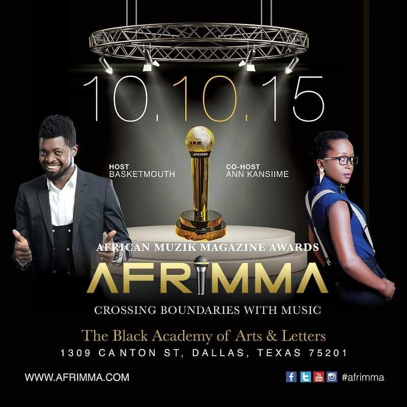 AFRIMA 2015 Nominees List | Full Continental & Regional List