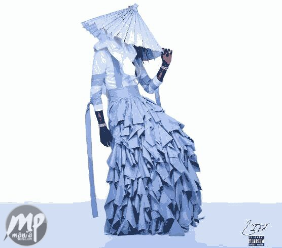 Rapper Young Thug dresses like a woman on the cover of new album