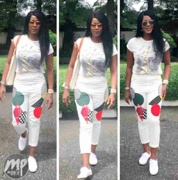 Nollywood actress Stephanie Linus looking beautiful in new photos