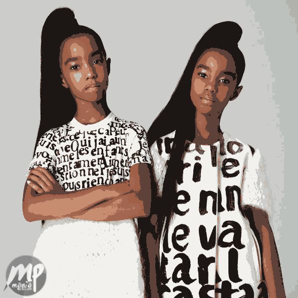 Rap mogul Diddy flaunts his daughters in lovely new photos
