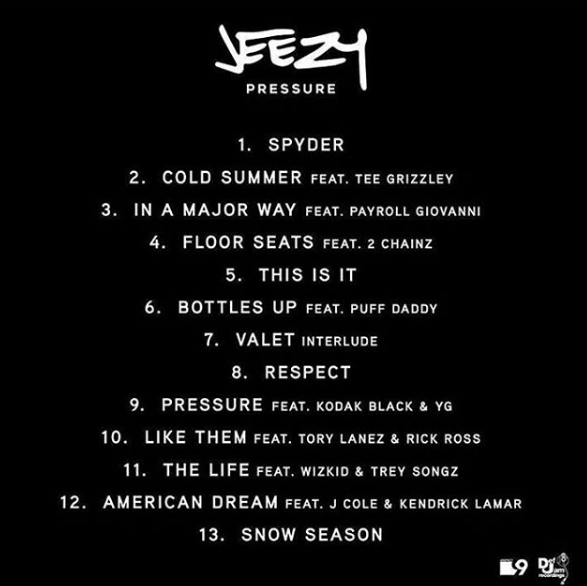 Untitled Young Jeezy's 'Pressure' Album features Wizkid