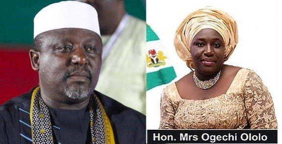 wp-image-1688212418 Gov. Okorocha Swears In Sister as Commissioner For Happiness