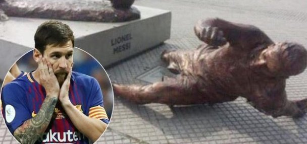 wp-image-1911597316 Vandals destroy Lionel Messi's Statue for the Second time in one year