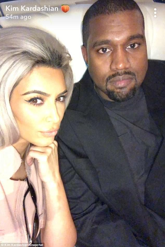 wp-image-830530340 Rekindled Love! Kim Kardashian & Kanye West All Loved Up (Photos)