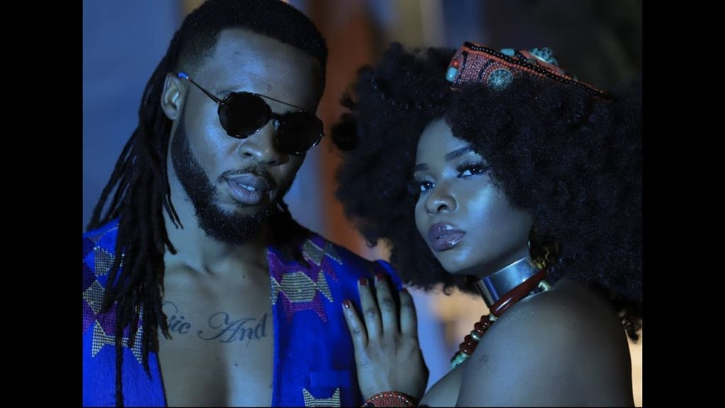 Music Video) Flavour - Crazy Love (ft  Yemi Alade)