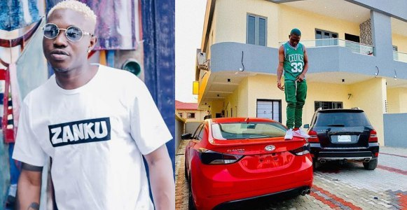 Zanku crooner, Zlatan Ibile gifts his Manager a brand new car