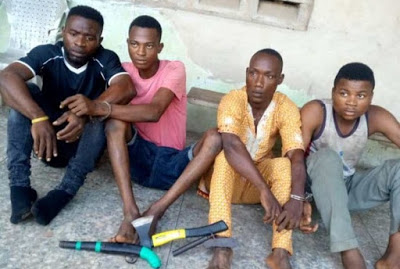 Ogun state: Police arrest four suspected cultists