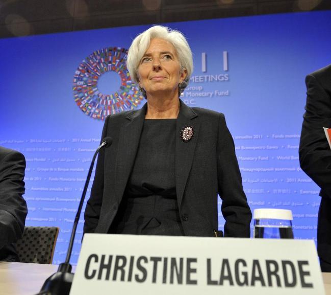IMF: Why Managing Director, Christine Lagarde resigned
