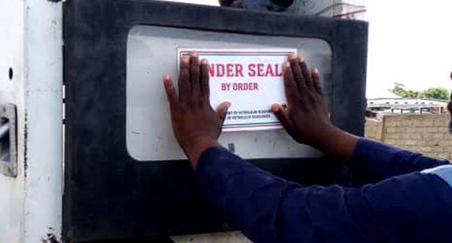 Katsina State: DPR seals filling station