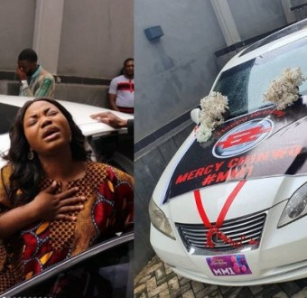 Gospel singer, Mercy Chinwo gifted a car on her birthday